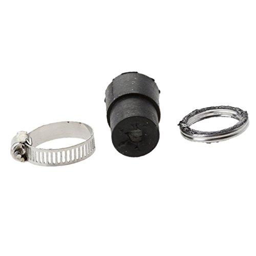 monkeyjack sistemas de escape Silenciador Tubo De Goma Para & Seal Kit de juntas para yamaha peewee50PW 50
