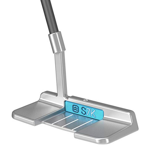 S7K Standing Putter for Men and Women –Stand Up Golf Putter for Perfect Alignment –Legal for Tournament Play –Eliminate 3-Putts (Right)