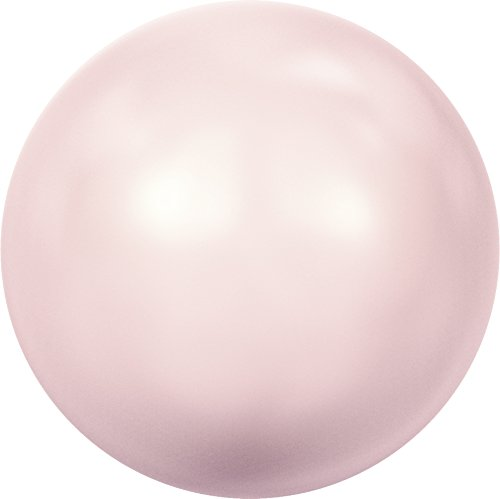 Cristaux de Swarovski 611017 Perles Nacrées 5818 MM 6,0 Crystal Rosaline Pearl, 500 Pièces