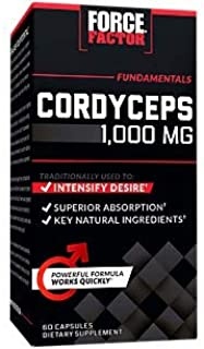 Force Factor Cordyceps 60ct, 60 Count