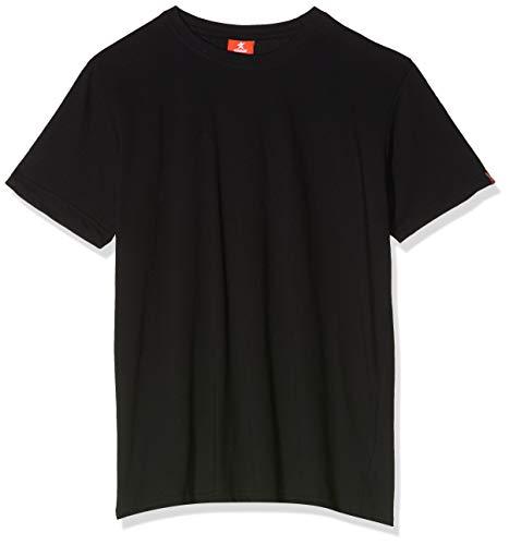 ZINRAY 3er Pack T-Shirt Herren Basic Rundhalsausschnitt O-Neck Slim Fit | Einfarbig Schwarz, Weiß, Grau | 100% Baumwolle (S/M/L/XL/XXL/3XL)