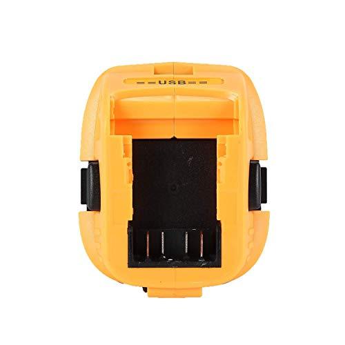 Product Image 7: DCA1820 Battery Adapter for Replace Dewalt 18V to 20V Tools Convert for Dewalt 18V NiCad & NiMh Battery Tools DC9096 DW9096 DC9098 DC9099 DW9099(USB Converter) (1 Pack)