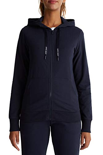 ESPRIT Sports Damen ocs Sweat Cardigan Sweatjacke, 401, S