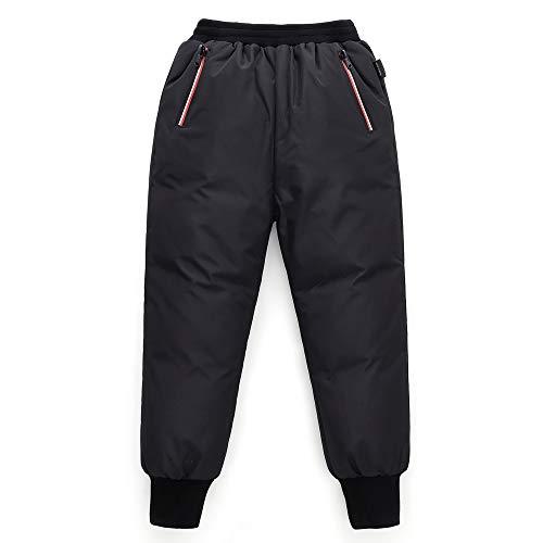 Niños Pantalones de Plumas Niños Niñas Invierno Pantalones de Nieve Ligero y Cálido Pantalones Deportivos para Exteriores 4-5 Años