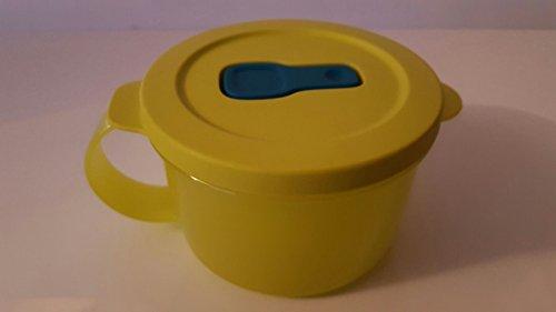 Tupperware Micro-Fix Magnetron, 460 ml, limoengroen, beker met deksel, kom met deksel, Premeal, vrieskist, kantoor