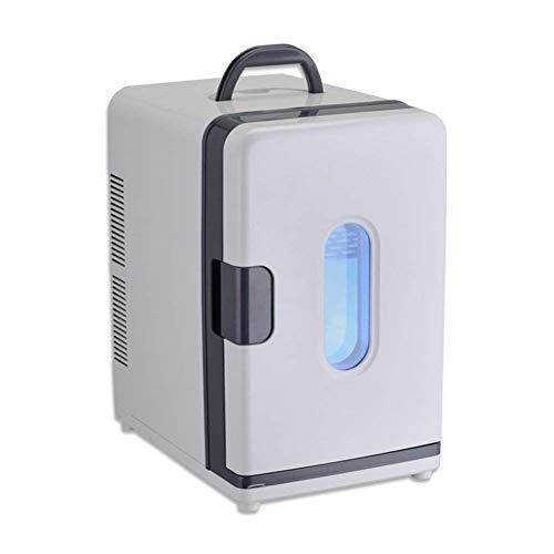 NLRHH Mini refrigerador Portátil Alojamiento para Estudiantes refrigerante pequeño congelador refrigerador Blanco-Blanco Peng (Color : White)