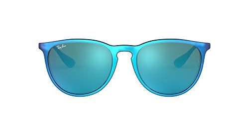 Ray-Ban 4171 Gafas de sol, Azul/Plata/Azul Espejada (Blue/Silver/Blue Mirror), 54 Unisex-Adulto