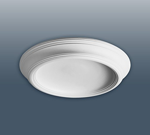 Orac F10 Ceiling Dome 35 Inch Diameter White Primed Polyurethane
