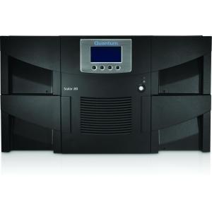 Quantum Scalar i80 Library Two IBM LTO-7 Tape Drives 50 Slots 8Gb Native Fibre Channel