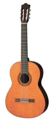 Yamaha C40 - Guitarra clásica de nailon de tamaño completo, color marrón