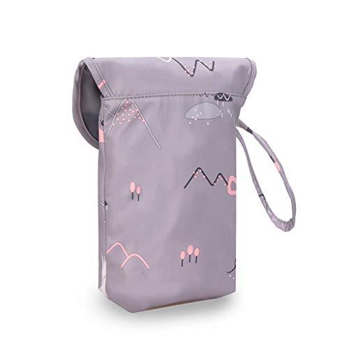 Boji Mobile Phone Crossbody, Multifunctional Baby Nappy Organiser Reusable Printed Mummy Storage Bag
