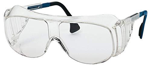 Uvex 9161 Retail Schutzbrille - Suprav. Sapphire - Transp./Blau-Schwarz