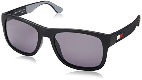 Tommy Hilfiger TH 1556/S Gafas de sol, Multicolor (Blackgrey), 52 para Hombre