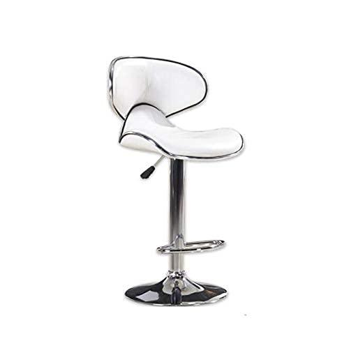Home Lifting Barhocker 2er-Set Barstuhl Barstuhl PU-Stuhl Lounge Chair Hoher Hocker Sitzhöhe 60 80cm Mehrfarbig Optional (Color : Black Size : Two) (Color : Black Size : One)