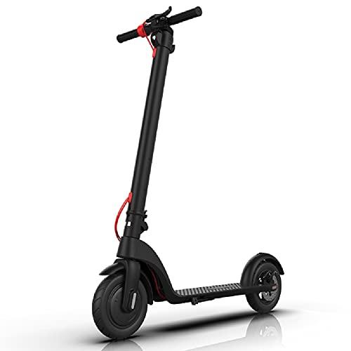Feisman Nuevo Electric Scooter Patinete eléctrico Plegable Ultraligero X7 Pro, Scooter E de 10 Pulgadas, Super obsequios para Adultos y niños