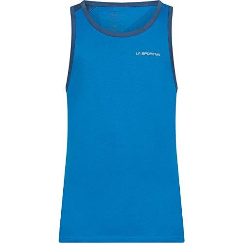 La Sportiva Camiseta de tirantes Shimmy para hombre, azul, XL