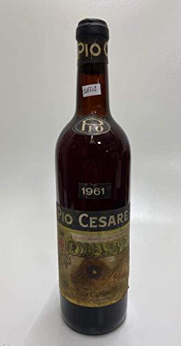 Vintage Bottle - Pio Cesare Barolo 1961 RUINED LABEL 0,72 lt. - COD. 1641