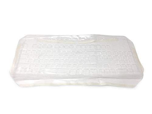 Keyboard Cover Compatible with Microsoft 4000 - Part 878E122- Protects from Spills, Dirt, Grease, Food, Easy to Clean