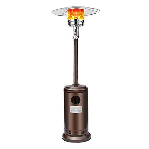 XIANGAI Calefactor Calentadores Eléctricos Calentador al Aire Libre Paraguas Gas Licuado Cocina de Gas de calefacción de Consumo y comerciales móvil Asar estufa-1300W