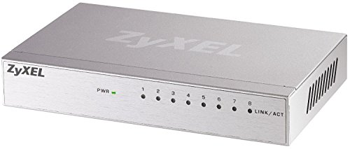 ZyXEL GS-108B Gigabit Ethernet Switch für Desktop (8-Port)