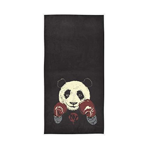 SZBNIZAINAOI Toalla de mano suave con guantes de boxeo, muy absorbente, grande, 39,9 x 69,8 cm, toalla de baño multiusos para cara, baño, gimnasio, hotel, spa