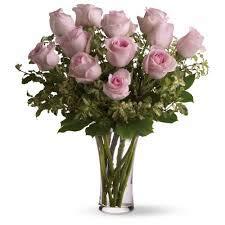 Bouquet de 18 roses naturelles fraîches Rose -