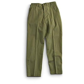 Genuine Army GI M-1951 Field Trousers Korean War Wool Field Pants OD Size Medium