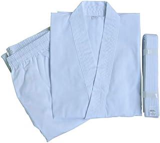 [ WILD FIT ワイルドフィット ] 伝統型 空手衣 白帯付 00~6号 空手着