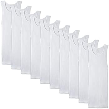 10-Pack Fruit of the Loom Men's A-Shirt