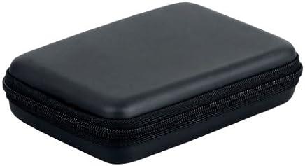 """Zehui - Funda rígida con cremallera para disco duro portátil (2,5""""), color negro"""