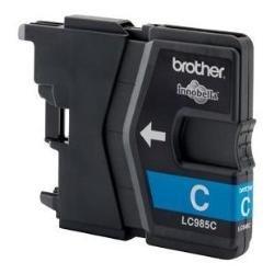 Brother LC985 - Cartucho de tinta cian (duración estimada: hasta 260 páginas .según ISO/IEC 24711)