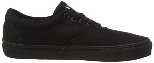 Vans Doheny, Zapatillas para Hombre, Negro Lona Negro Negro 186, 42 EU