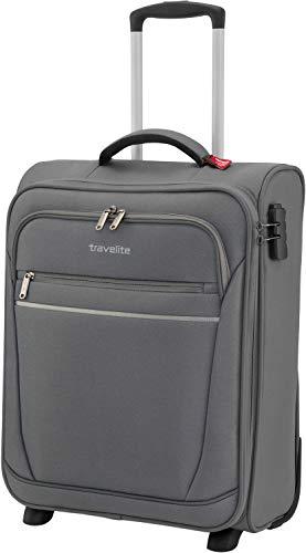"""Valigia \""""CABIN\"""" by travelite, ideale come bagaglio a mano: pratico trolley a due ruote disponibile e dotato di 2 ampie tasche frontali"""