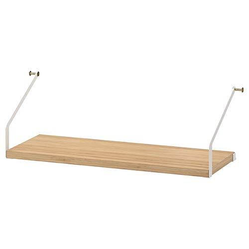 SVALNÄS Regal Bambus 61x25 cm für Zuhause & Büro SVALNÄS Schreibtischkombinationen SVALNÄS Teile SVALNÄS System Aufbewahrungslösungssysteme Aufbewahrung & Organisation. Umweltfreundlich.
