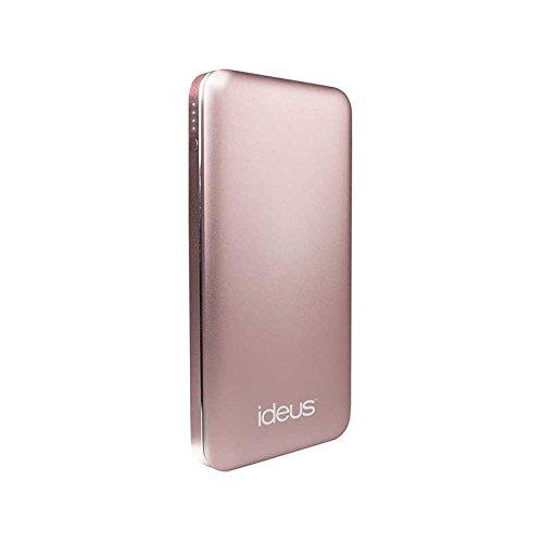 Ideus PBPL10000MEPK - Batería Externa de 10000 mAh, Color Rosa