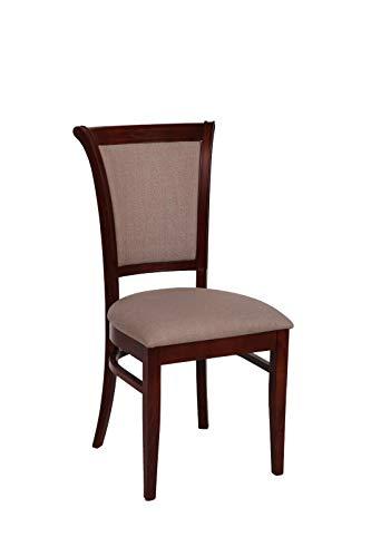 Möbel Gregor Esszimmerstuhl Holzstuhl Küchenstuhl Stuhl Stühle Sessel Wohnzimmerstuhl KR- 293 (KIRSCHBAUM)