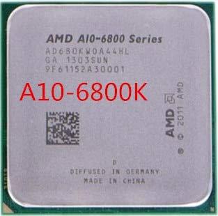 DIPU WULIAN A10-Series A10 6800k 6800 A10-6800K 4.1GHz Quad-Core CPU Processor AD680KWOA44HL Socket FM2