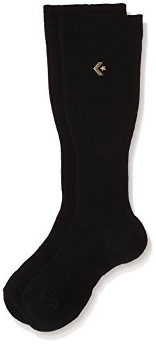 [コンバース]バスケットボール 靴下 ゴールドシリーズ 着圧ハイソックス CBG111003 [ユニセックス] ブラッ...