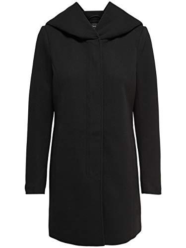 ONLY Damen Onlsedona Light Coat Otw Noos Mantel, Mehrfarbig (Chocolate Truffle Detail: Melange), XS EU