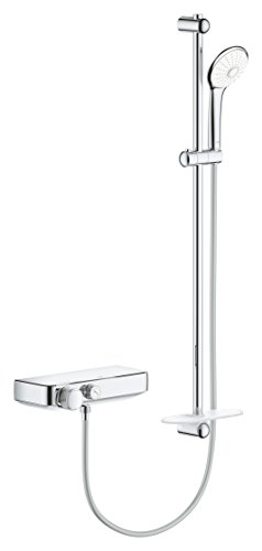 Grohe 34721000 Sistema de ducha Euphoria, Cromo, 900 mm