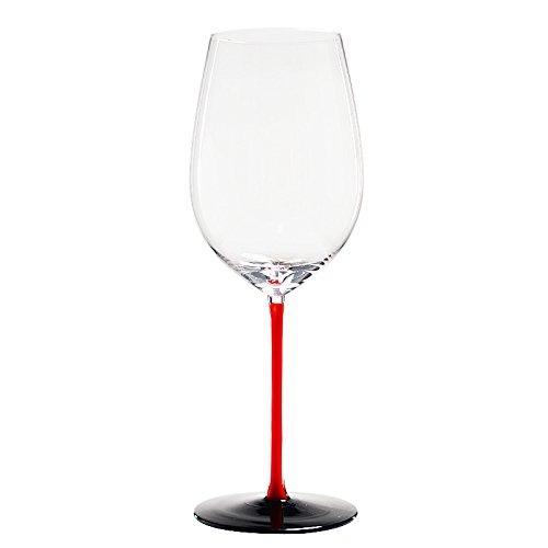 JARONG Tasse À Vin Rouge Cristal sans Plomb Restaurant Bar,B860Ml