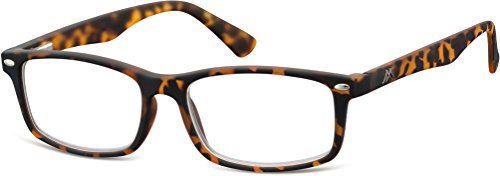 Montana Eyewear Sunoptic MR83A Lesebrille in havanna - Stärke +2.00 inklusive Soft Etui