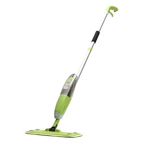 NOBRAND Mopa de piso, mopa de microfibra, escoba de gama alta (verde) para la limpieza del suelo de la escoba pulverizadora