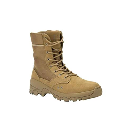 5.11 Men's Speed 3.0 Jungle Tactical Boot Military & Tactical, Equipped with Ortholite Insoles and Fence-Climbing Toes, Dark Coyote, 10.5 M US