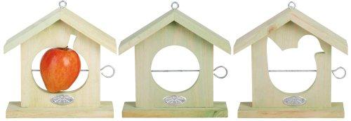 Pour mieux Oiseaux BFBFB12 Apple House Bird Feeder