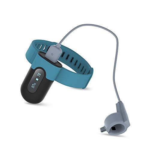 Pulsoximeter Sauerstoffsättigung Messgerät, Handgelenk-Schlafmonitor mit Vibration, Vollständige Nachtüberwachung des Schlafsauerstoffgehalts, Herzfrequenz mit Bluetooth, APP- und PC-Bericht