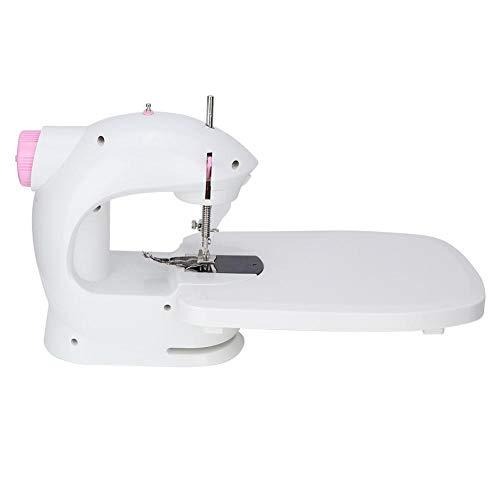 Máquina de Coser Automática - Mini Máquina de Coser Eléctrica Máquina de Coser Portátil Herramienta de Costura con Pedal para Hogar Casa Viajar Niños Principiante(#2)