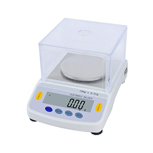 Find Discount zyy 0.01g Experimental Scales Electronic Analytical Balance, LCD Display Precision Dig...