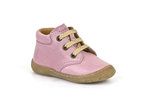 Froddo Schuhe Kinderschuhe Halbschuhe mit Schnürsenkel (20 EU, Rosa)
