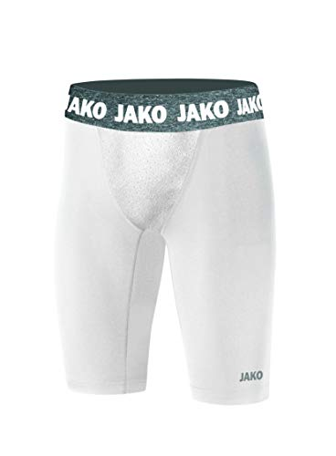 JAKO Herren Short Tight Compression 2.0, weiß, L